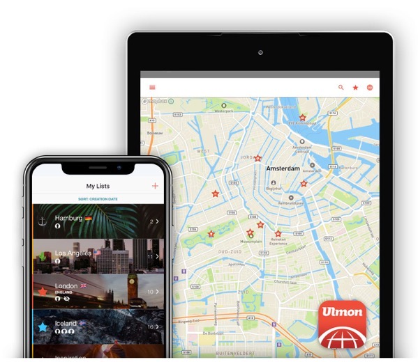 Citymaps2go app preview